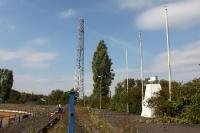 Hier spielte einst Vorwärts Frankfurt / Oder, das Stadion der Freundschaft wuchert zu...