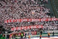 Fans des VfB Stuttgart beim DFB-Pokalfinale 2013