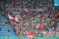 Stuttgart Fan-Support in Bochum
