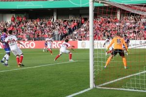 VfB Stuttgart bei Energie Cottbus (Pokal)