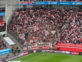 VfB Stuttgart Fans in Leverkusen April 2018