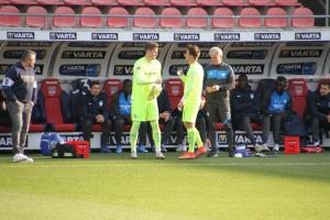 Manuel Riemann FC Heidenheim - VfL Bochum 21-04-2021 Spielszenen