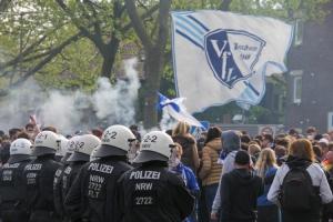 VfL Bochum Fans Aufstiegsfeier 1. Bundesliga 23-05-2021