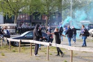 VfL Bochum Ultras Aufstiegsfeier 1. Bundesliga 23-05-2021
