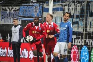 Bochum gegen Duisburg Spielszenen 29-01-2019