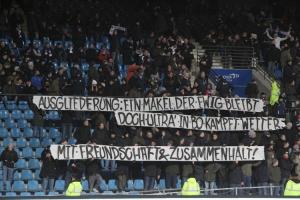 Bochumer Ultras Spruchband
