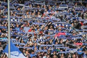 Fans des VfL Bochum Ostkurve
