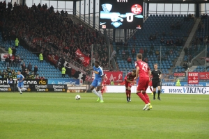 Peniel Mlapa gegen Kaiserslautern 5. April 2017