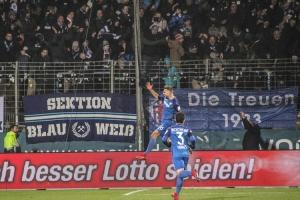 Spielszenen Bochum gegen Darmstadt Februar 2018