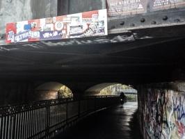 Auf dem Weg zur Bremer Brücke