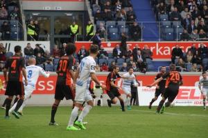 Spielszenen MSV Duisburg gegen VfL Osnabrück