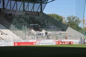 Viktoria Köln Fans in Essen 13. Oktober 2018