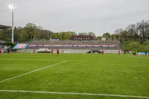 Stadion am Zoo: WSV gegen RWE Spielszenen 08-05-2021 Spielszenen