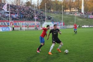 Spielszenen Wuppertal gegen Essen 12-04-2018