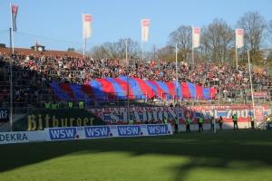 Support WSV Fans gegen den KFC Uerdingen