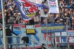 Support Wuppertaler SV Ultras gegen Essen