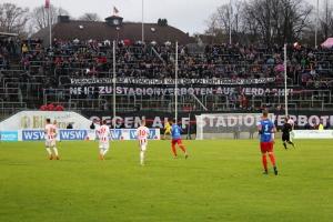 Ultras Wuppertal gegen Stadionverbot Protest
