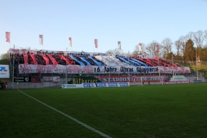 WSV Choreo 16 Jahre Ultras Wuppertal