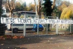 WSV: Liebe Hopper bezahlt wird am Infostand