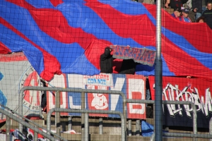WSV präsentiert KFC Fahne Grotenfront