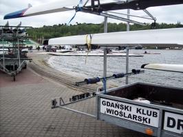 Ruder-Veranstaltung in Poznań