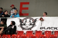 Fans der Black Dragons Erfurt auf Tour in Berlin