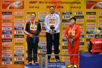Christina Schwanitz, Valerie Adams und Lijiao Gong