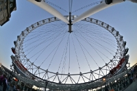 London Eye, Riesenrad an der Themse, Olympia 2012