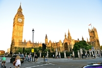 Westminster und Big Ben in London, Olympia 2012