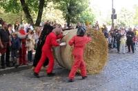 Popraci - Strohballenrollen