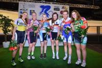Siegerehrung Punktefahren Frauen
