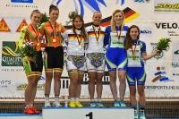 Siegerehrung Teamsprint Frauen