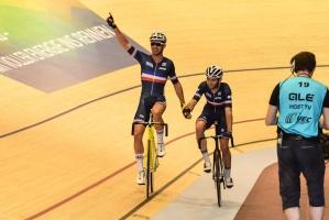 Frankreich holt Gold im Madison