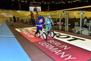 Kids Race im Berliner Velodrom
