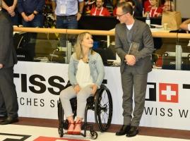 Kristina Vogel beim Weltcup