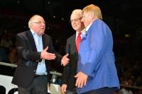 Uwe Seeler, Franz Beckenbauer, Axel Lange