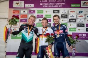 Cycling / Radsport / Deutsche Meisterschaften - Strassenrennen - Elite Maenner / 23.08.2020