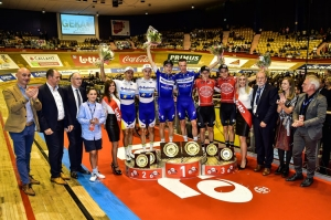 Siegerehrung in Gent