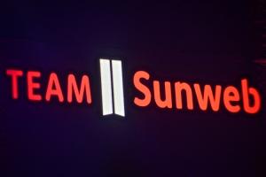 Teampräsentation Sunweb