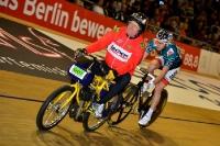 Theo Reinhardt beim Berliner Sechstage-Rennen 2013