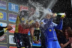 Siegerehrung Ronde Van Vlaanderen
