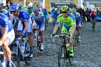 Start von Paris Roubaix 2015