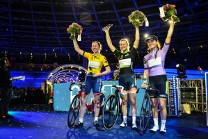 Gesamtsiegerehrung Frauen in Berlin