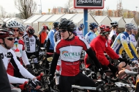 Kurz vor dem Start des Jedermannrennens, Storck Bicycle MOL Cup 2012, 15. April