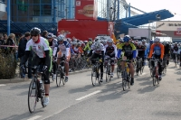 Start des Jedermannrennens in Eiche, Storck Bicycle MOL Cup 2012, 15. April