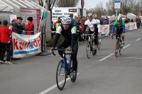 Zieleinlauf Jedermannrennen Storck Bicycle MOL Cup 2012, 15. April