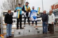 Marek Bosniatzki, Dennis Vögeding, Ronny Tober - Sieger des Jedermannrennen 2012 in Eiche