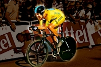 Bradley Wiggins beim EZF, Tour de France 2012
