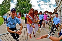 Miss France bei der 99. Tour de France 2012