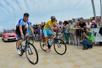 David de la Cruz, Vincenzo Nibali, Tour de France